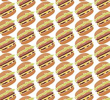 I love Burgers by creativecamart