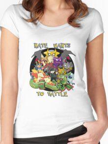 Natewantstobattle Women's Fitted Scoop T-Shirt