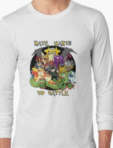 Natewantstobattle Long Sleeve T-Shirt