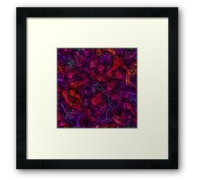 Magenta And Friends Framed Print