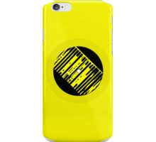 Record Man in Yellow iPhone Case/Skin
