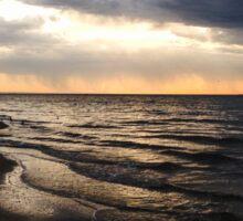Sunrise at Werribee South Beach Sticker