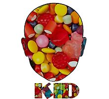 Candyface Kid Photographic Print