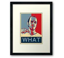 """GTA 5 - Trevor """"What"""" Framed Print"""