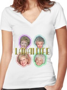 The Golden Girls--The OGG Women's Fitted V-Neck T-Shirt
