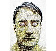 Blind Man Dark Portrait Photographic Print