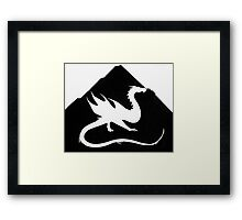 Under the Mountain Framed Print