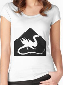 Under the Mountain Women's Fitted Scoop T-Shirt