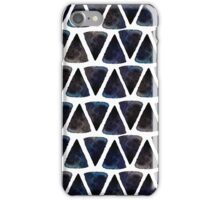 Ink triangles iPhone Case/Skin
