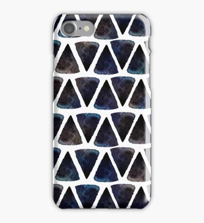 Ink triangles iPhone Case/Skin