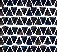 Ink triangles by Anna Kutukova