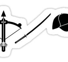 The Walking Dead - Symbols Sticker