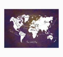 World Map One Piece - Short Sleeve