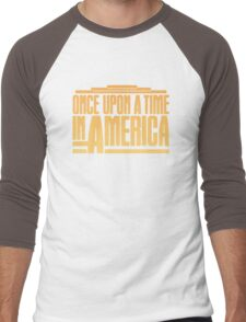 Once Upon A Time In America (1984) Movie Men's Baseball ¾ T-Shirt