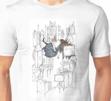 alice and the rabbit hole Unisex T-Shirt