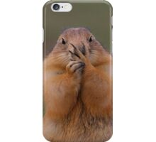 Prairie Dog with Funny Expression iPhone Case/Skin