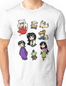 Inuyasha Sticker Set Unisex T-Shirt