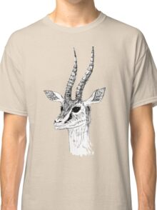 Animal Drawing - Antelope  Classic T-Shirt