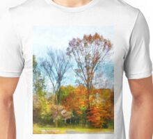 Tall Autumn Trees Unisex T-Shirt