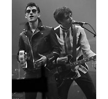 Alex Turner and Miles Kane Photographic Print