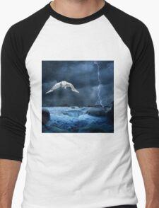 Stronger than the storm Men's Baseball ¾ T-Shirt