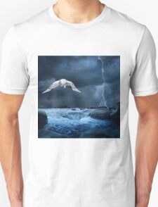 Stronger than the storm Unisex T-Shirt