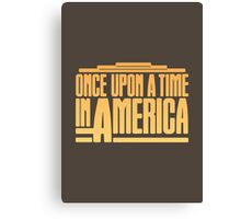 Once Upon A Time In America (1984) Movie Canvas Print