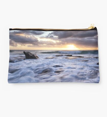 Whipped Cream Waves Studio Pouch