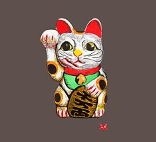 Maneki Neko, Lucky Cat Womens Fitted T-Shirt