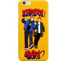 Lazy Scranton - With Text iPhone Case/Skin