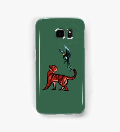 Tiger and Magpie Samsung Galaxy Case/Skin