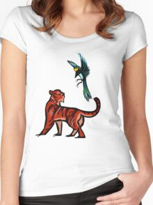 Tiger and Magpie Women's Fitted Scoop T-Shirt