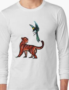 Tiger and Magpie Long Sleeve T-Shirt