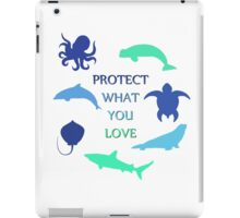 Protect What You Love iPad Case/Skin
