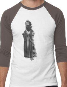 Chicken-Duck-Woman-Thing Men's Baseball ¾ T-Shirt