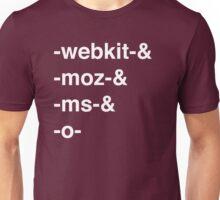 Web Browser Prefixing Unisex T-Shirt