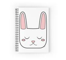 Cute Sleeping Bunny Spiral Notebook