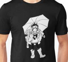 Raining Plastic (B&W) Unisex T-Shirt