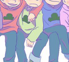 Osomatsu-san - Matsuno brothers Sticker