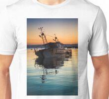 Sunset Wreck Reflected  Unisex T-Shirt