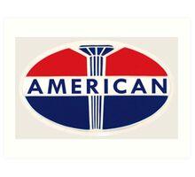 American Oil Company Art Print
