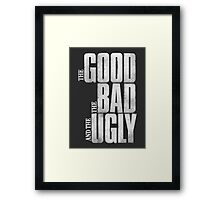 The Good, the Bad and the Ugly (1966) Framed Print