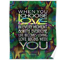 Love Begins With YOu Poster