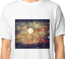 The Moon Over The Sea Classic T-Shirt