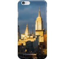 New York Skyline Sunset iPhone Case/Skin