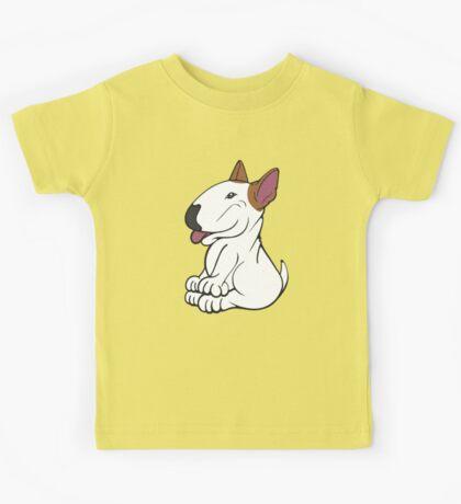Mini Bull Terrier Lola  Kids Tee