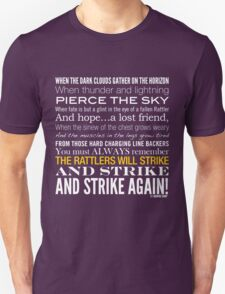 Alpha & Omega Strike Collection by Graphic Snob® Unisex T-Shirt