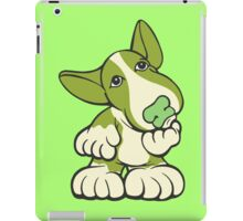 Pondering EBT Cartoon Green iPad Case/Skin
