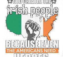 IRISH AMERICAN by HotTShirts