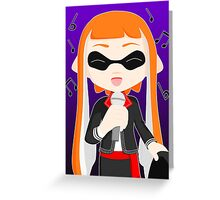 Mariachi Inkling Female Greeting Card